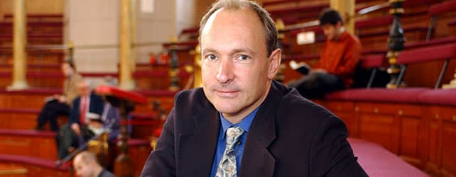 Tim Berners-Lee, Foto: w3c