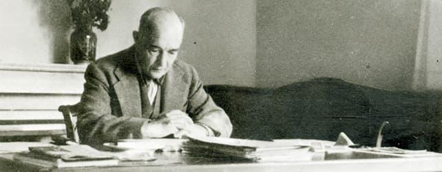 Robert Musil, Bildquelle: Robert Musil-Institut für Literaturforschung, Walter Fanta