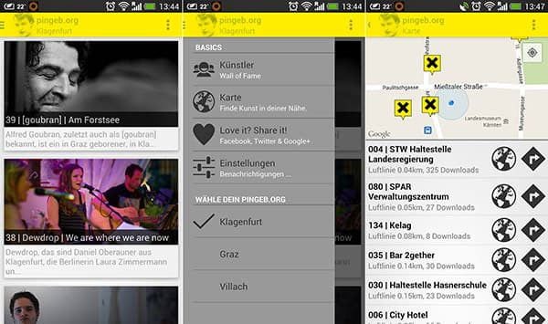 pingeb.org Android App